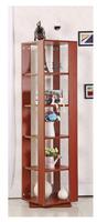Modern design wooden CD racks good quality decoration CD shelf