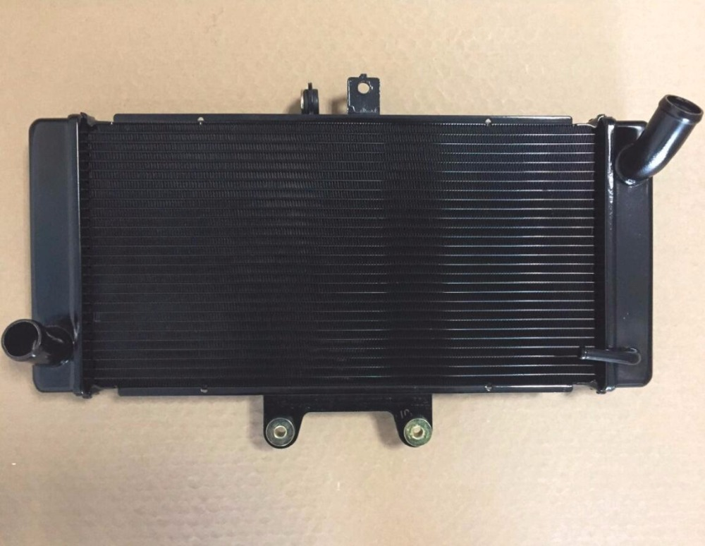 Motorcycle spare parts race aluminum radiator for Suzuki GSF 650