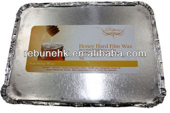professional no strips hot film hard wax,hair removal wax
