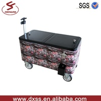 Full color wrap printing metal ice cooler scooter