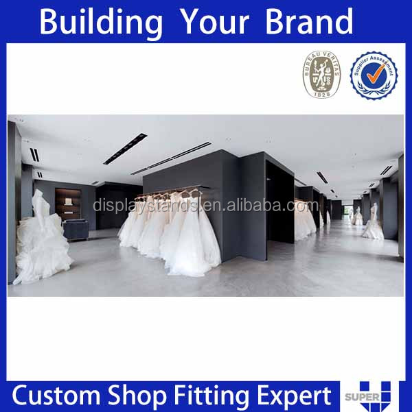 Designer beautiful wholesale wedding dress display case