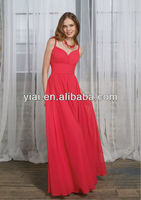 LL025 Long Beautiful Bridesmaid Dress 2013