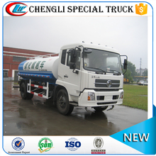 Dongfeng 4x2 10000L single axle water truck sprayer water tanker for sale