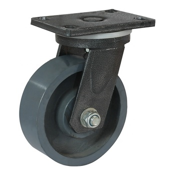 Double ball bearing  Steel core iron bed casters