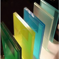 clear/tinted tempered Laminated Glass,clear and titned laminated glass factory in china