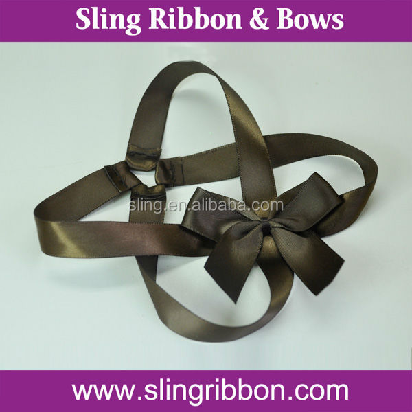 2015 Hot selling Packing Ribbon Bow with Elastic Loop Wholesale