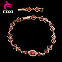best selling items gold plated gemstone wholesale copper bracelets
