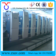 Hottest Stable High Quality Zhongshan Youwei UV offset ink Curing Systems For Offset Printing Machine KBA105
