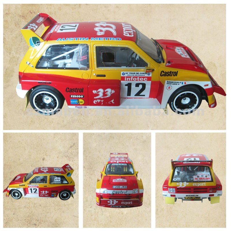 1/18 scale resin car model