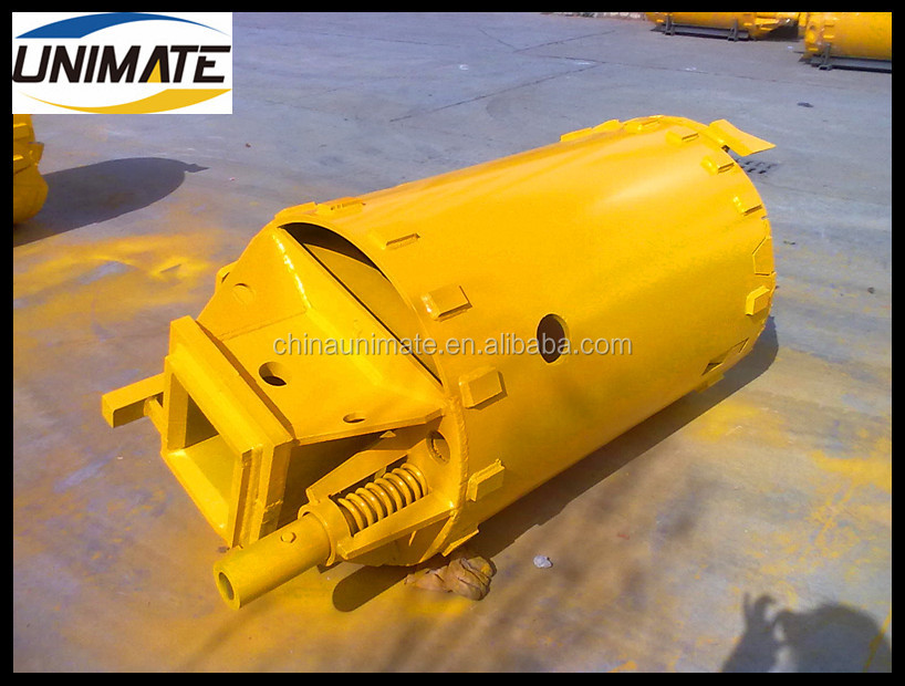 Excellent excavator part rock core barrels Manufacturer Drilling Rig Bucket Supplier clay/soil drilling bucket
