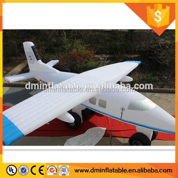 America West Airline Promotion Inflatable Airplane, inflatable airship for sale