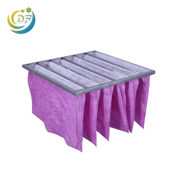 HVAC Secondary F5 F6 F7 F8 F9 Air Filter Pocket type Bag Filter