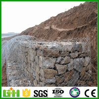 GM low price galvanized high quality hexagonal mesh gabion basket from Anping manufacture