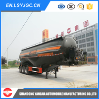 Loading Capacity 30-40 Tons Bulk Cement Semi Trailer for sales with EXW