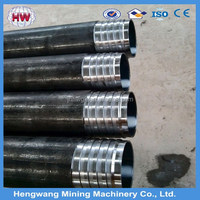 API water well drill rod/aw nw geological core drill rod/drill pipe