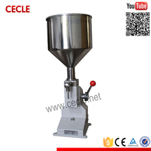 A03 small manual essential oil filling machine