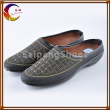New hot sale fashion cheap Africa flat casual ladies shoes 2012