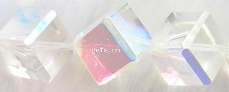 Crystal 8x8mm 8mm ab cube beads