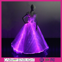 small quantity order ladies sleeveless pink Luminous beautiful designer dresses