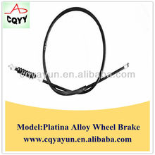 Motorcycle Control Cables of Front brake cable for India Platina Alloy Wheel