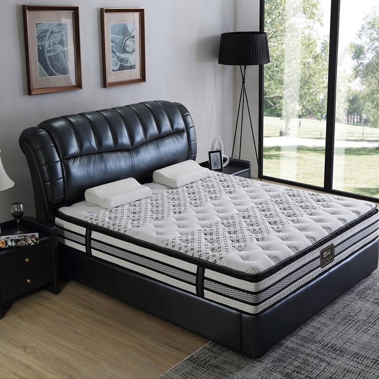 luxury inner pocket spring hybrid pillow top mattress bed vacuum packing - Jozy Mattress | Jozy.net