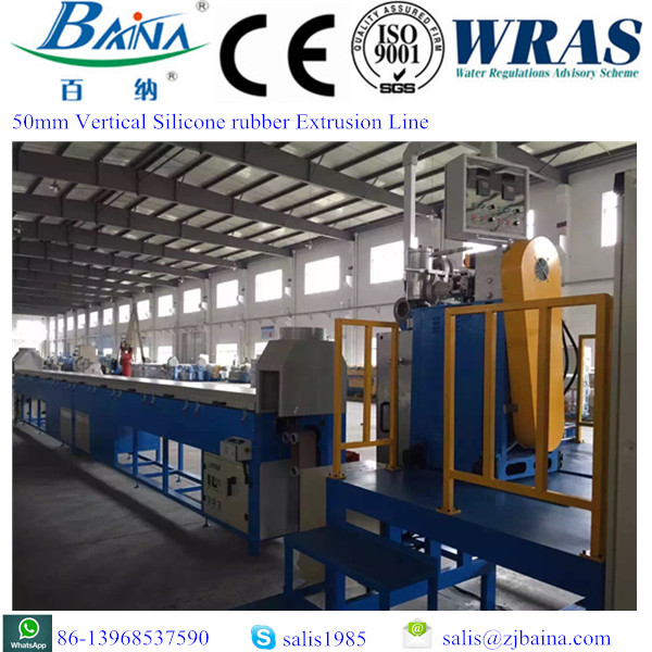 50 vertical silicone line/continuous vulcanization/curing production line