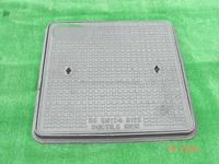 double seal manhole cover EN124 B125