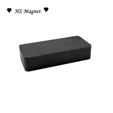 Production Wholesale Block Shaped Segment Ferrite Magnet