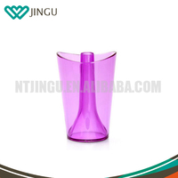 High Quality Plastic Bathroom Toothbrush Holder Cup