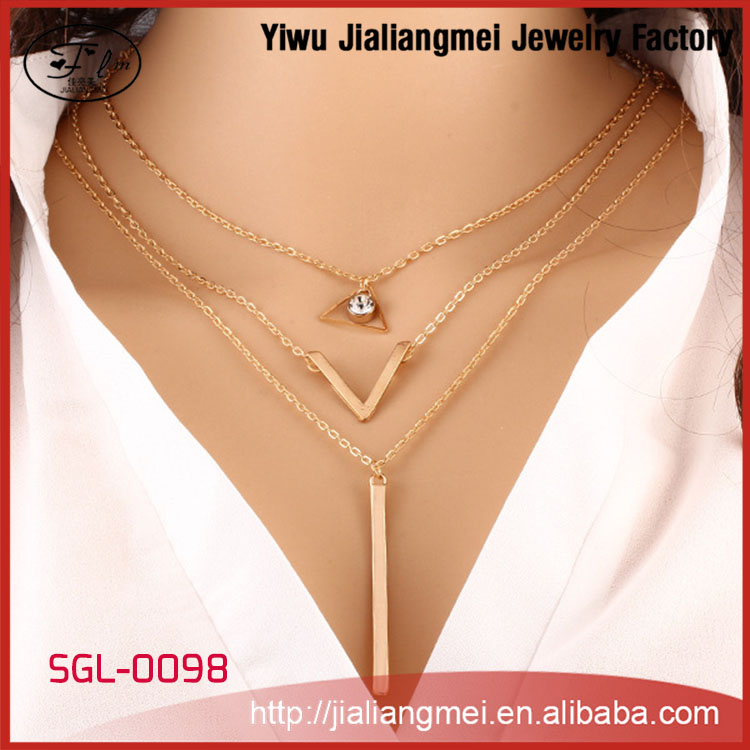 OEM/ODM Service Support Top Jewelry Manufacturer 2015 Women Fashion Jewelry Necklace