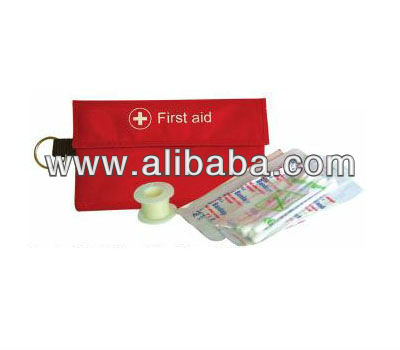 First Aid Kit with Key Ring