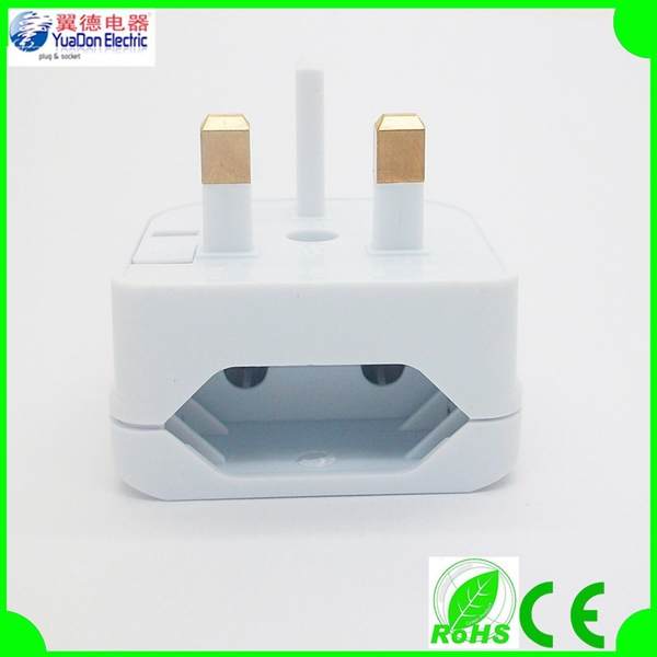 2015 Alibaba hot Europe to UK adapter