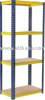 Boltless Rack with MDF Board