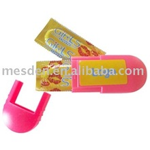 Plastic Oval Shape Condom Holder