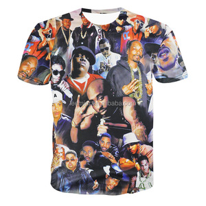 Simple design custom made sublimated t-shirts full printing