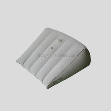 flocking inflatable backrest wedge cushion
