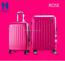 2016 Fashion Style Promotional ABS Travelling Trolley Luggage/Zipper Luggage