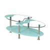 glass door center table design coffee table