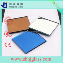 Haojing 1.1-12mm sheet/float glass aluminium mirror