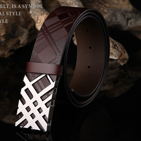 High Quality Genuine Leather Mens Belt, Fashion Style Brand Mens Leather Belts