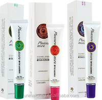 beilile pleasure more water-based lubrication top gel with 3 flavor for choiec 30g package