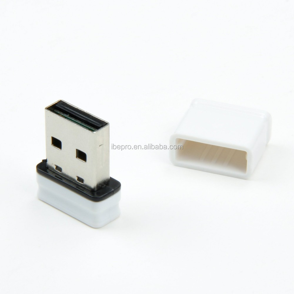 Mini USB WiFi Dongle / Wireless N Network Adapter w/ Internal Antenna for Mac, Laptop / Desktop
