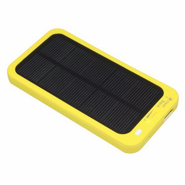 Waterproof Solar Power Bank High Quality 5000mAh Portable Charger Mobile Power for iPhone Android Smartphone