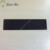 9V 200mA Monocrystalline PET Solar Panel