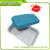 Airline coated aluminum foil container