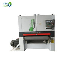 Wood polishing wide belt planer sander machine