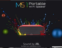 BroadLink MS1,Wifi Speaker,Mini Portable Intelligent Home Audio System,Dual Stereo+Passive Radiator,ISO android control via 3G