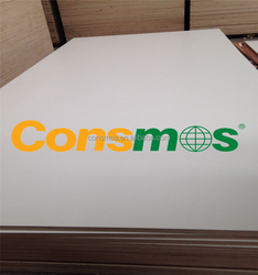 CONSMOS HPL Laminated plywood sheet white color double side