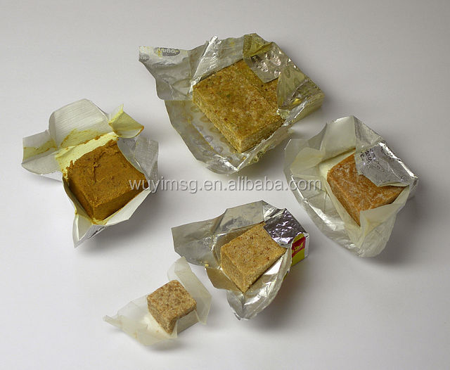 factory sell chicken bouillon cube/seasoning cube/chicken poulet