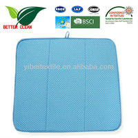 Heat-resistant kitchen mat